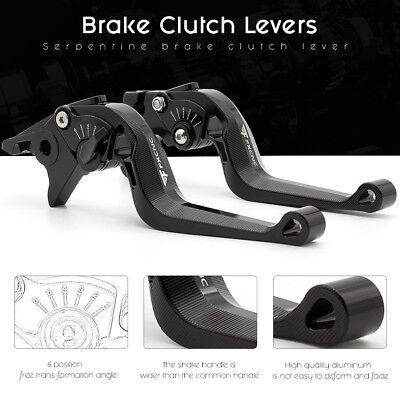 CNC Short Adjustable Brake Clutch Lever Set Fit For Triumph Scrambler 2006-2013