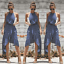 Womens-Ladies-Summer-Beach-Sundress-Boho-Evening-Party-Cocktail-Long-Maxi-Dress thumbnail 1