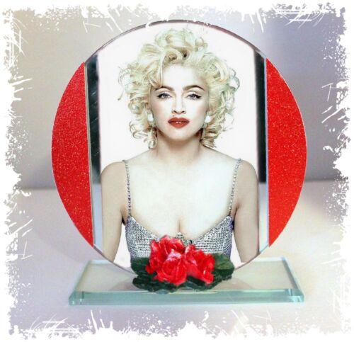 Cut Glass Round Plaque Memorabilia Ltd Edition #4 Papa Don/'t Preach Madonna