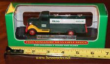"""2000 Hess Miniature """"First Hess Truck"""" 100% Mint-in-Box  Hess Mini Truck"""