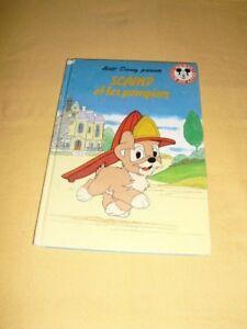 DISNEY-MICKEY-CLUB-DU-LIVRE-034-Scamp-et-les-Pompiers-034