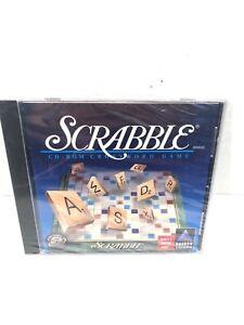 NEW Scrabble 1996 PC CD-ROM Crossword Game WIN/MAC Computer Game