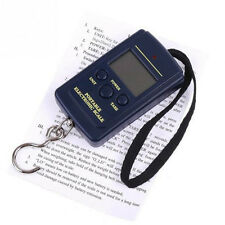 Pocket Electronic Digital Scale 40kg Hanging Luggage Weight Balance Steelyard CN