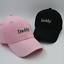 Daddy Embroidery Dad Hat Cotton Adjustable Baseball Cap Unconstructed Hat