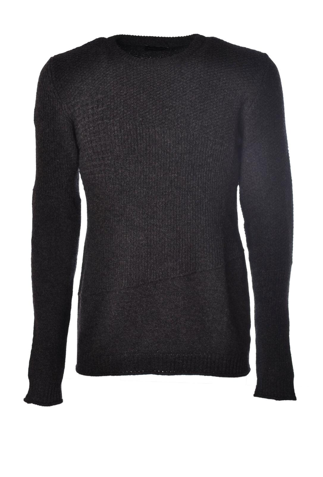 Roberto Collina  -  Sweaters - Male - Grau - 3984631A180939