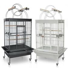 "88"" Inch Parrot Bird Flight Finch Cage Macaws Pet Supply Aviary House w/Free Toy"