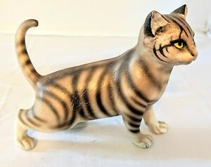 Vintage-Andrea-By-Sadek-Striped-Cat-on-the-Prowl-Figurine-Great-Condition-5-1-2-034