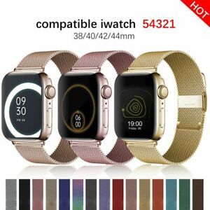 Milanese-Loop-Strap-for-Apple-Watch-5-4-3-2-Band-Stainless-Steel-iWatch-Bracelet