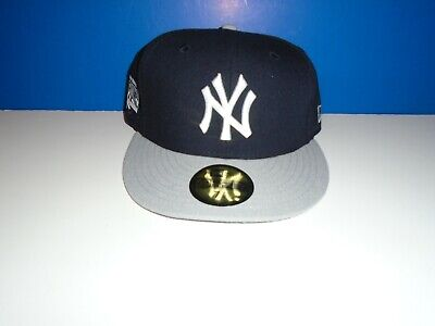 New Era New York Yankees Fitted Hat Cap 27 World Series Championships Patch HAT