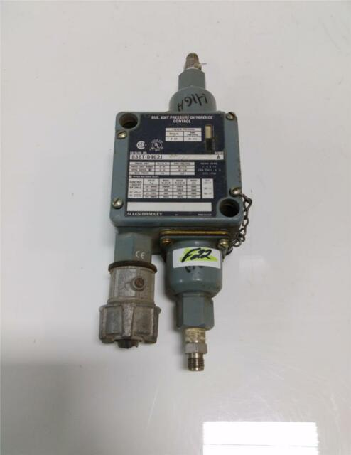 ALLEN BRADLEY PRESSURE DIFFERENCE CONTROL SERIES A  836T-D462J