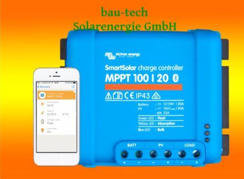 Victron Smartsolar Mppt Charge Controller 100//20 20amper 12 or 24v Inclusive