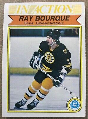 Mente Abierta 1982-83 O-pee-chee #24 Ray Bourque Ia! Boston Bruins! Una Gama Completa De Especificaciones