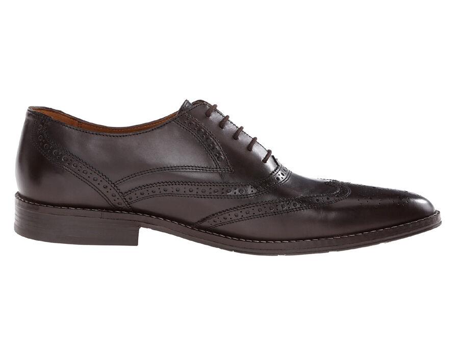 New Hush Puppies Norman Bronson uomo Leather Dress/Casual Shoes Sz 10.5 Scarpe classiche da uomo