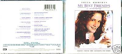My Best Friend S Wedding Soundtrack.My Best Friend S Wedding Original Soundtrack Cd 1 74646816622 Ebay