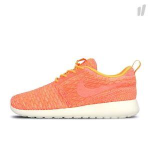 Nike Roshe One Flyknit Womens Running Shoes 704927 802 Laser