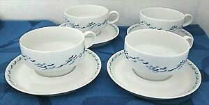 FINNAIR-4-Sets-Cups-amp-Saucers-Designed-by-TAPIO-WIRKKALA