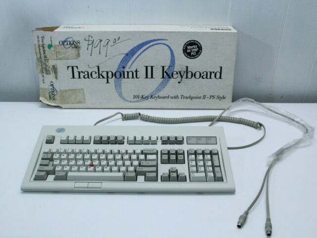 vintage IBM LEXMARK USA M13 Keyboard Trackpoint II 92G7461 MINT IN OPENED BOX