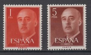 ESPAGNE-1960-NUEVO-MNH-SPAIN-EDIFIL-1290-91-FRANCO
