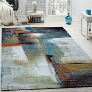 Modern Rug Abstract Rugs Small Extra