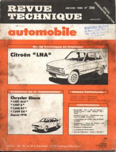 Confiant Rta Revue Technique Automobile N° 396 Citroen Ln Lna Les Commandes Sont Les Bienvenues.