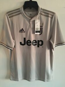 Details about Adidas Juventus Away soccer jersey 2018-19 Beige Size YXL Boy's Only