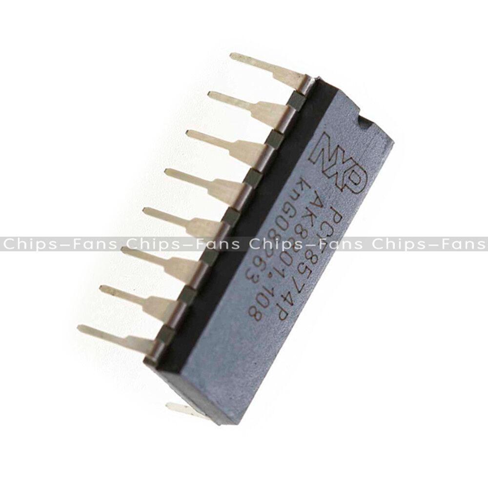 2//5//10//20PCS PCF8574P DIP-16 Chip Remote 8-Bit I//O Expander Original IC