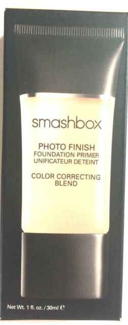 Smashbox Photo Finish Color Correcting Foundation Primer Blend 1 Oz
