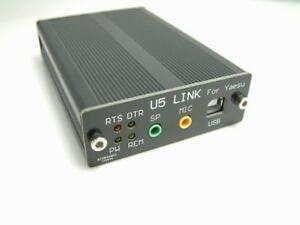 U5-USB-PC-Linker-Adapter-for-YAESU-FT-818-FT-817ND-857D-897D-CAT-CW-Data-SQL-CTS