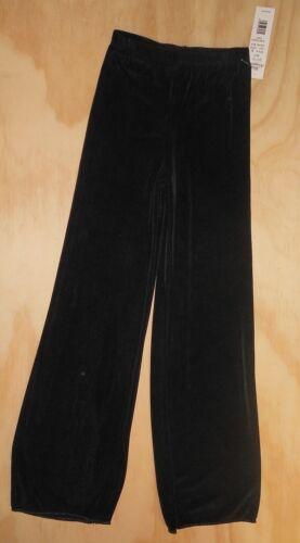 NWT Slinky Black Jazz Pants Body Wrappers Style 95 Unisex Dance Kids 6x-7
