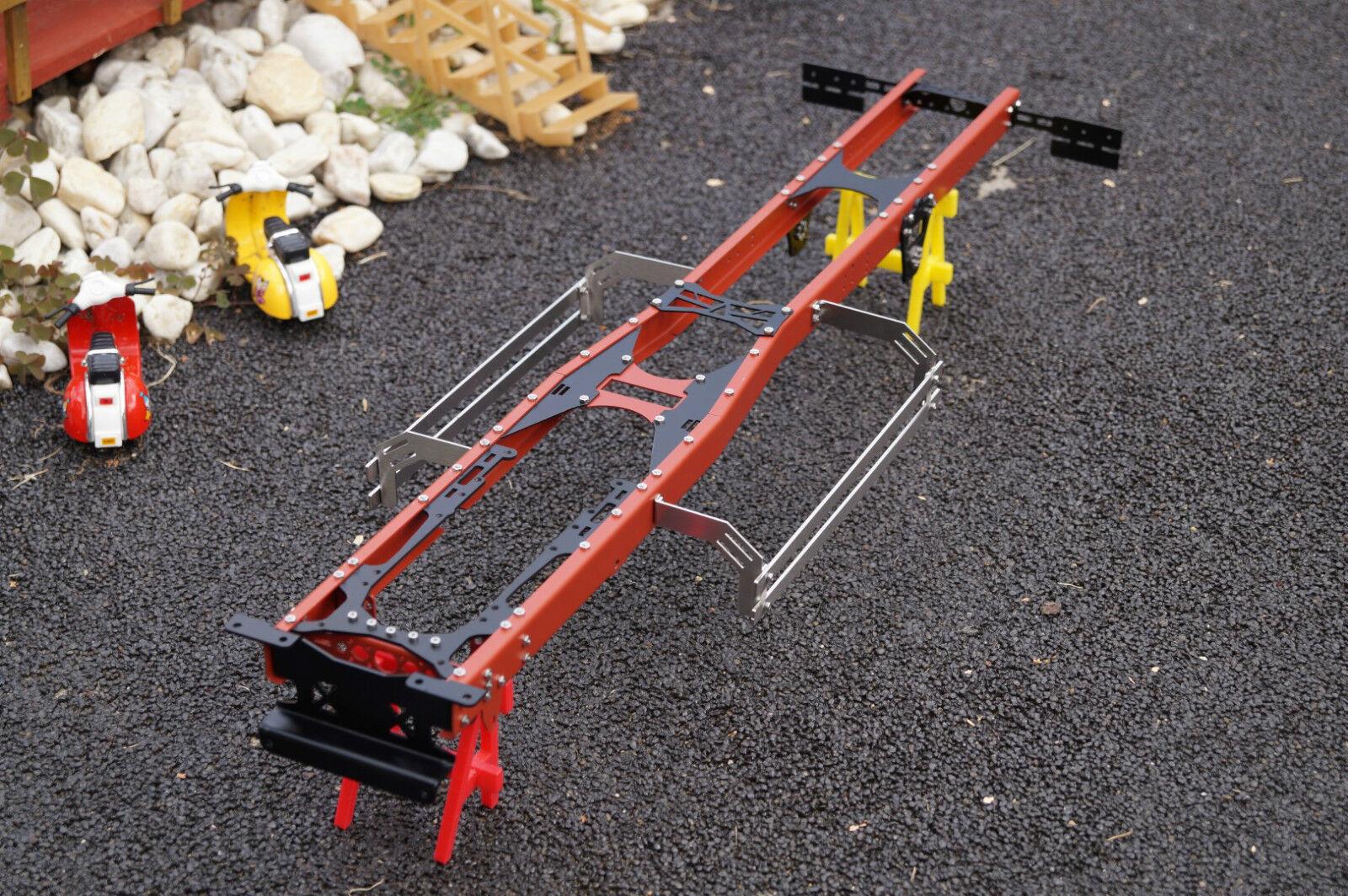 Chasis de acero 6x4, 6x6 1 14 camiones TAMIYA y otros scale-Parts