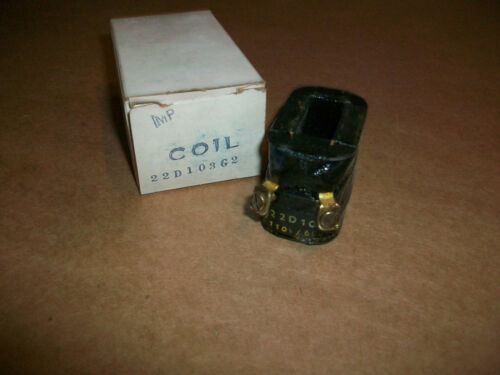 GE General Electric Starter Contactor Coil 22D103G2 NEW