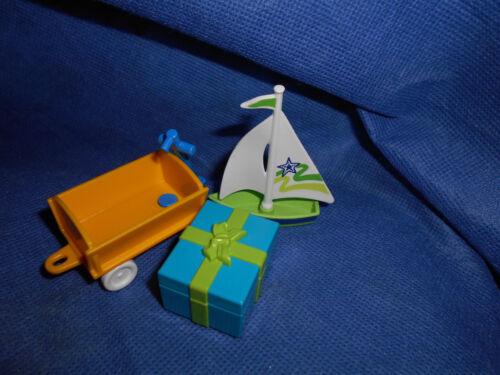 Playmobil Bollerwagen Geschenk Schiffchen für Kinderzimmer Konvolut unbespielt