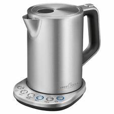 PROFICOOK Wasserkocher PC-WKS 1108 inox 1,5L Teekocher 2200 Watt Edelstahl
