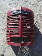 Farmall H Hv Ih Tractor Original Front Nose Cone Grill With Screen Amp Emblem