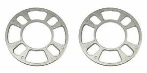 4-Lug-Disc-Brake-WHEEL-SPACERS-6-034-Diameter-1-Pair-Aluminum-80125