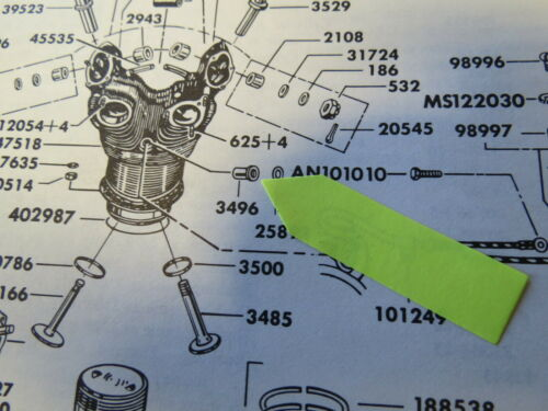 Pratt Whitney R-985 R-1340 Aircraft Cylinder Spark Plug Bushings 3496+5 10 20