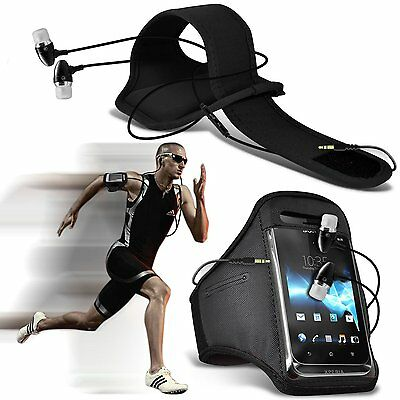 Sports Gym Fitness Armband Case Cover & Handsfree For BlackBerry Z10