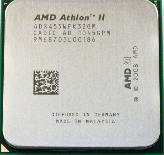 AMD CPU Athlon II X3-455 3.3GHz Socket AM2+  AM3