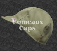 Comeaux Caps Welding Welders Hats Flame Resistant Frc Westex Indura Khaki Hrc