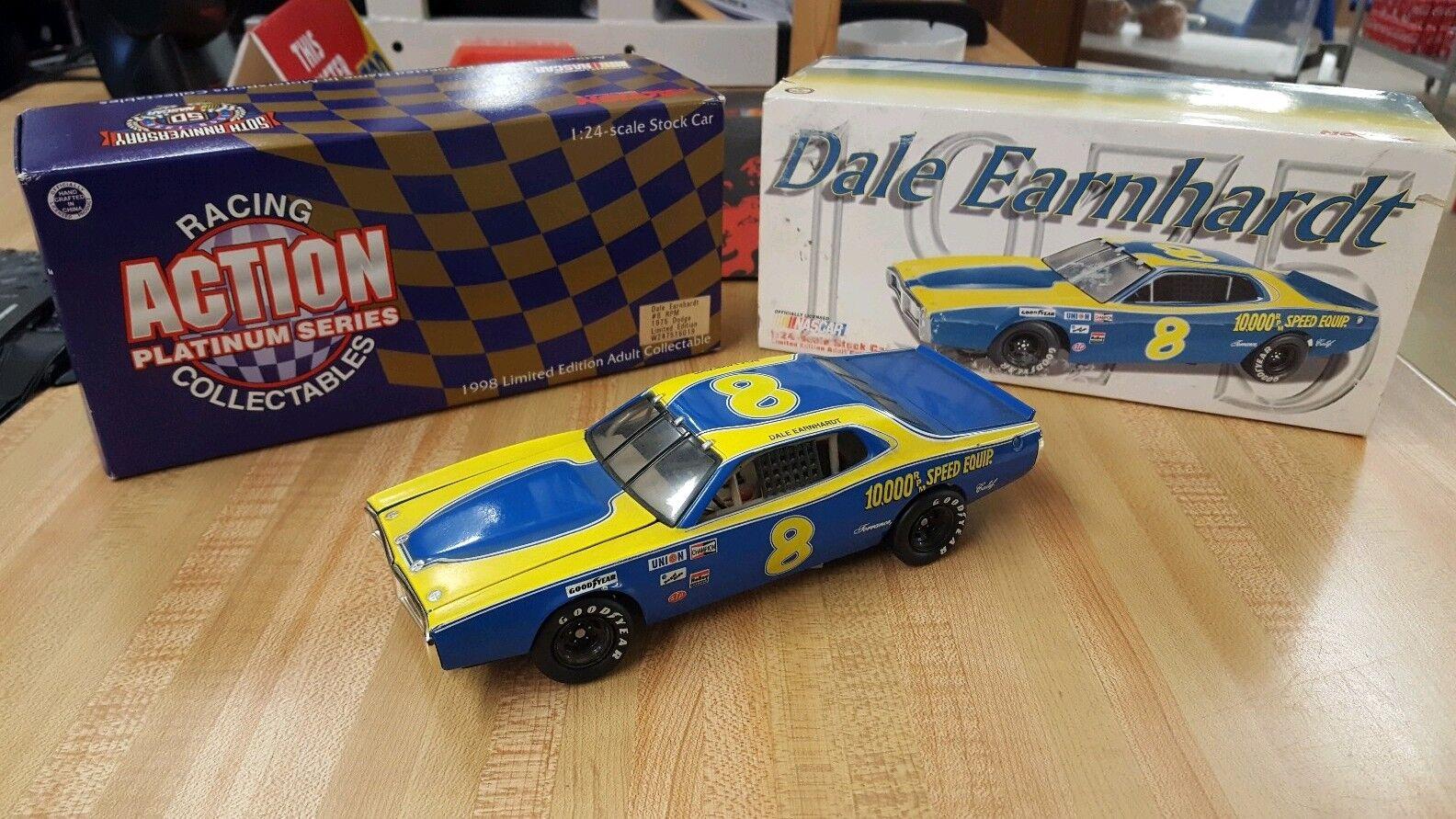 Action Brand 1975 Dale Earnhardt Diecast Car 1 1 1 24 4ad2ce