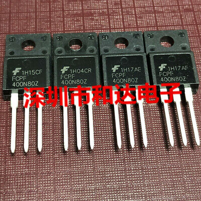 10pcs FQPF5N80C 5N80 5A 800V MOSFET Transistor TO-220F