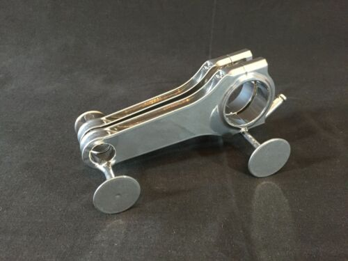 Race Car Con Rod Engine Coffee Table Business Card Holder - v8 engine table