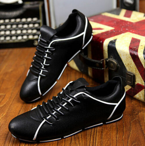 New Men fashion Casual suede shoes British Lace Up Loafers Sneakers Sport Shoes Wild casual shoes