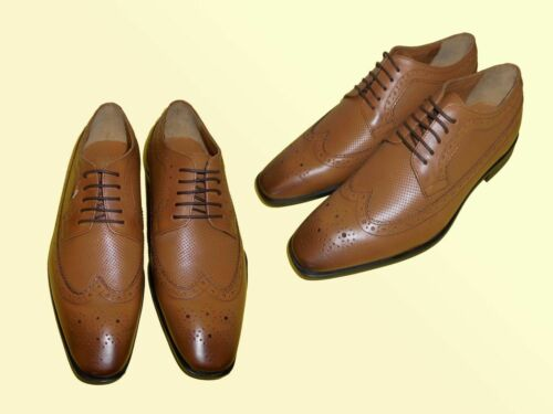 elegante Herrenschuhe Schnürschuhe Schuhe Leder Gr 43-46 Modell wählbar NEU