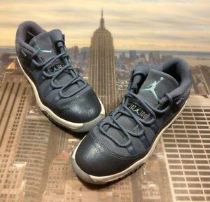 finest selection 26dc7 dfd5e Image is loading Nike-Jordan-XI-11-Retro-Low-GP-Blue-
