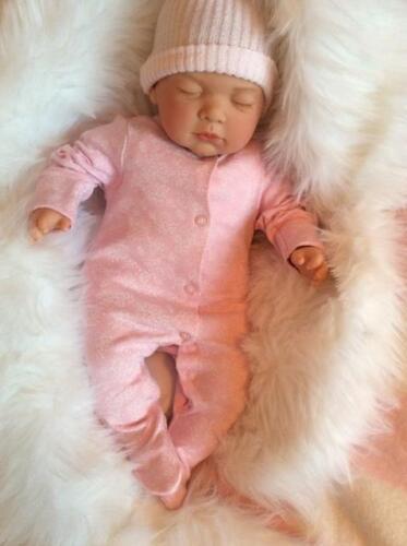 La vendita UK BELLISSIMO REALISTICO a pelo RINATO BABY GIRL Bambola Manichino CE UK