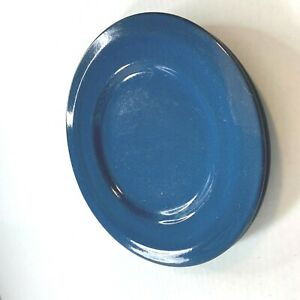 Pier-1-Imports-Dinner-Plates-Lot-of-2-11-034-Diam-Blue