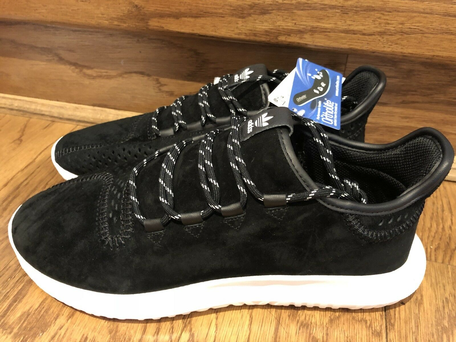 Adidas Originals Mens Size 11.5 Tubular Shadow Shoes Sneaker Men Black CQ0933