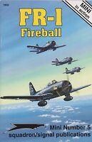 Ryan Fr-1 Fireball - Mini In Action 5 (mixed Propulsion Plane, Naval Aviation)