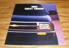 Original 1995 Chevrolet Truck Full Line Sales Brochure 95 Blazer Pickup
